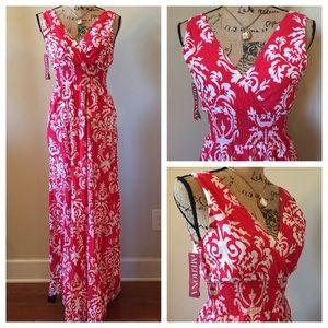 🆕🎁 MERONA Sleeveless Maxi Dress Sundress NWT